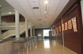 Vista de la zona de exposiciones