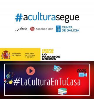 #QuedaNaCasaeLe_Biblioteca Publica de A Coruña MG Garcés
