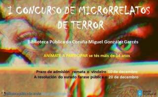 I Concurso de microrrelatos de terror