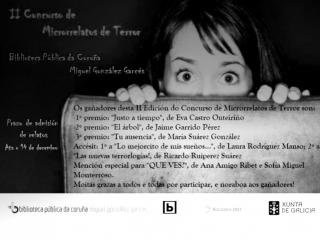 II Concurso Microrrelatos de Terror_Biblioteca Pública de A Coruña MG Garcés