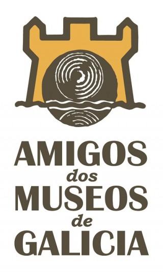 Logotipo de la Asociación de Amigos de los museos de Galicia