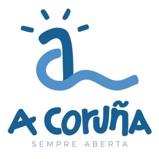Logotipo de Coruña Turismo