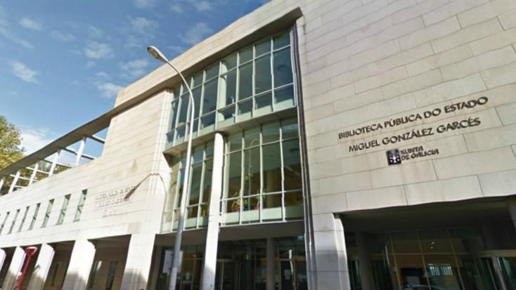Biblioteca Pública da Coruña Miguel González Garcés