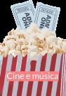 Novidades en cine e música