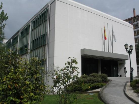 Fachada Biblioteca Nodal de Lugo