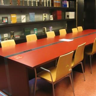 Sala de traballo en grupo